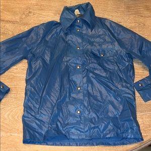 Vintage blue nylon LD Baranka too jacket